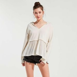 Urban Outfitters Cameron Peplum Tunic Top / Hoodie